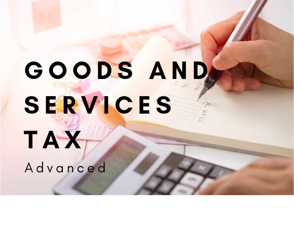 Goods and Services Tax Progro